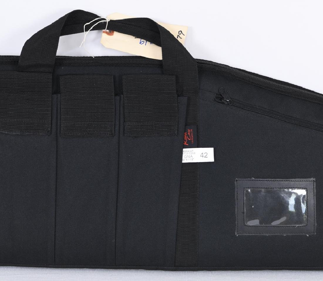 ROMA Black Soft Padded Assault Rifle Case 42'x11.5 - 3