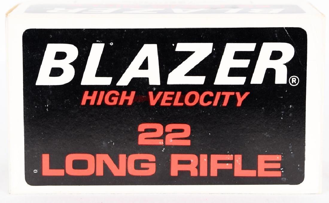 500 rds Blazer High Velocity .22 LR ammo