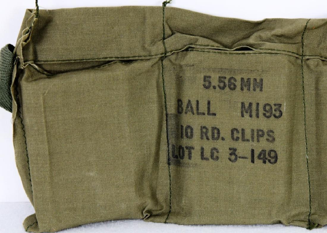 140 Rounds 5.56 Nato Lake City Bandolier M193 - 2