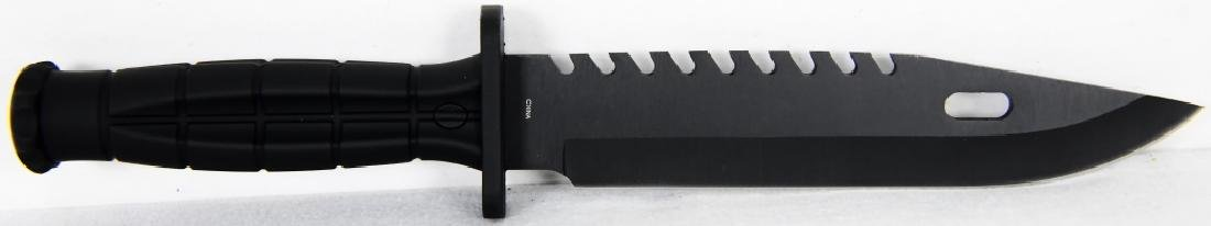 Frost Cutlery USA Tactical Knife / ABS Sheath - 5
