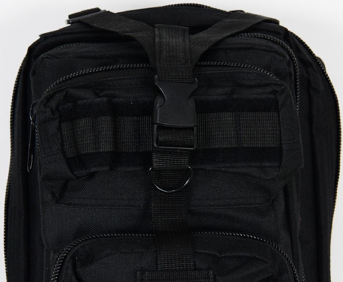 New Tactical Prepper Backpack Black print Med sz - 2
