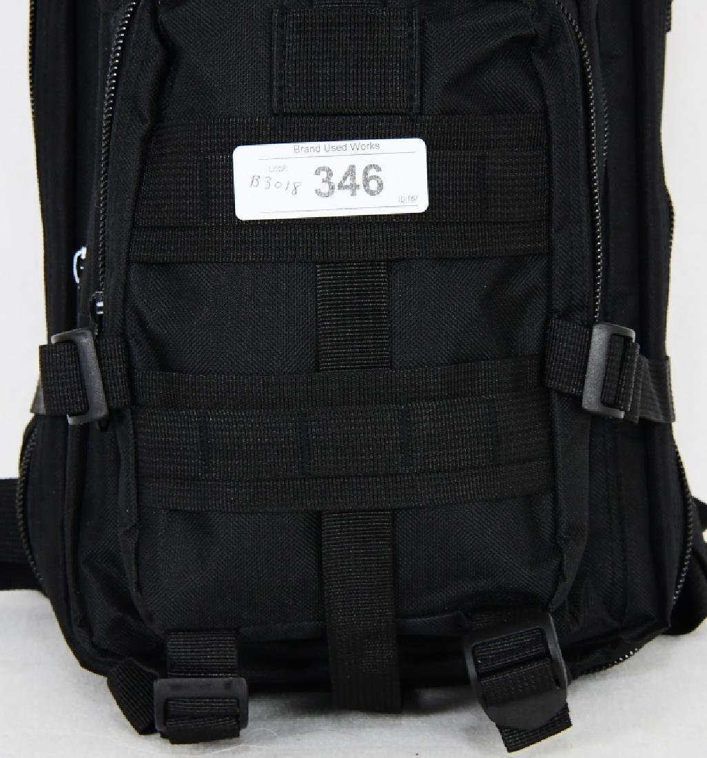 New Tactical Prepper Backpack Black print Med sz - 3