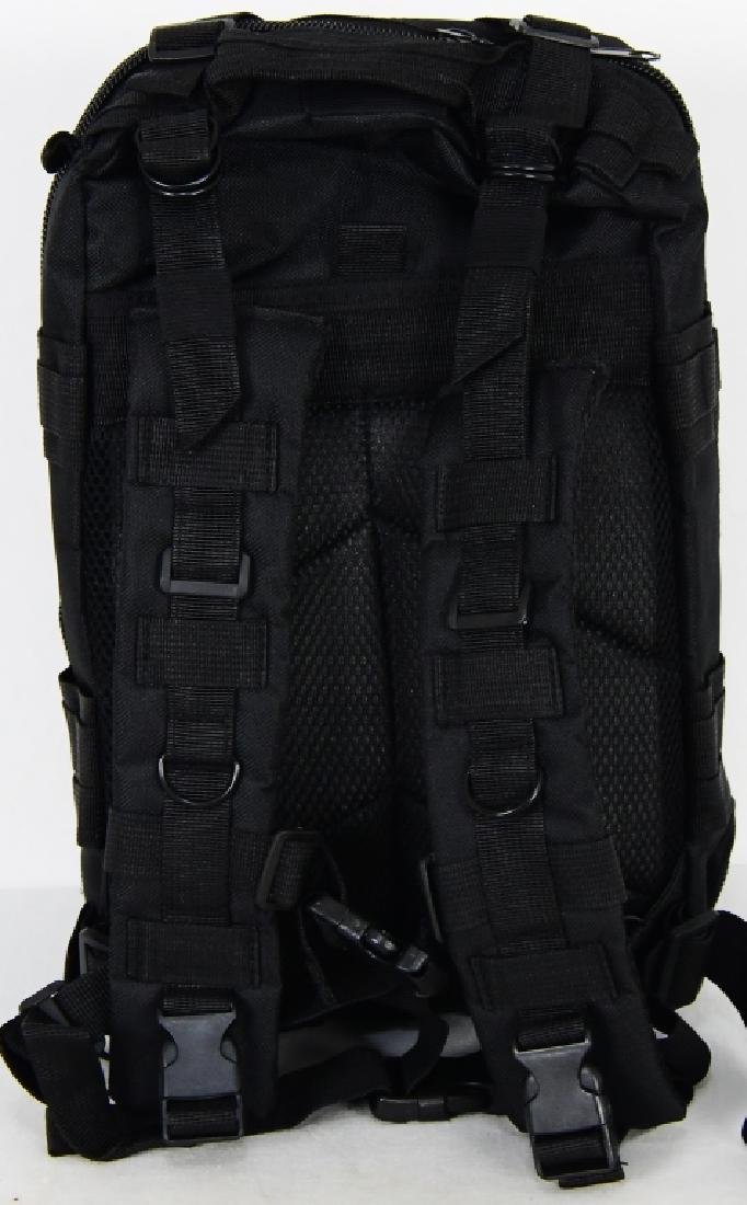 New Tactical Prepper Backpack Black print Med sz - 4