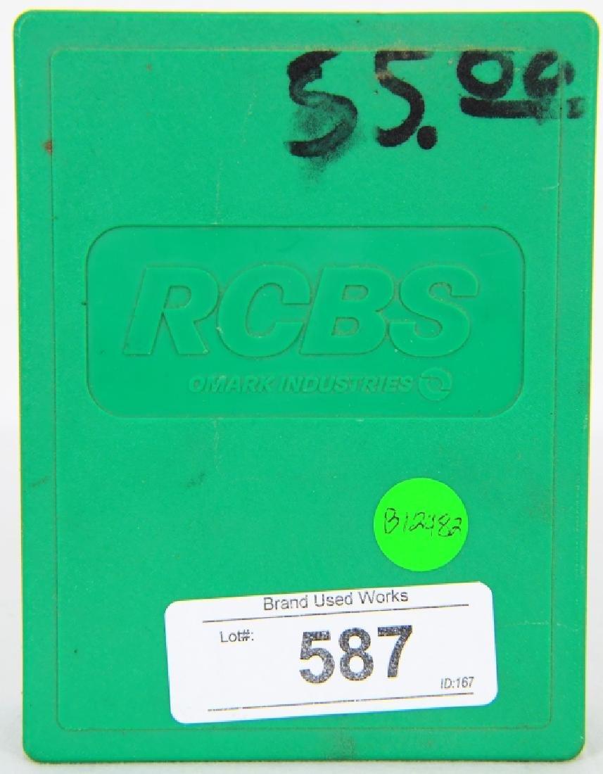 RCBS Reloading Die Set #18912 Carbide .45 ACP