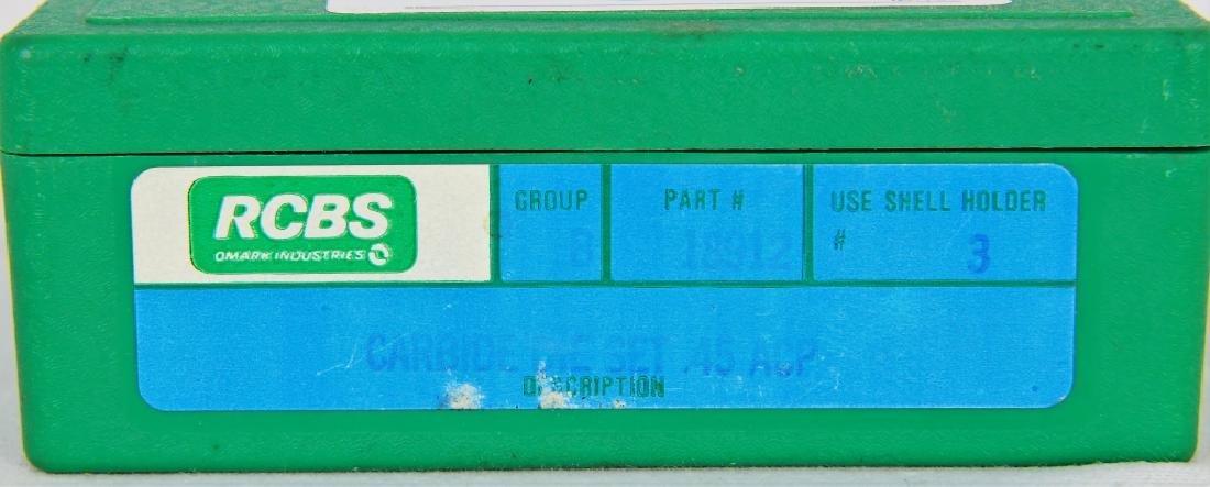 RCBS Reloading Die Set #18912 Carbide .45 ACP - 2