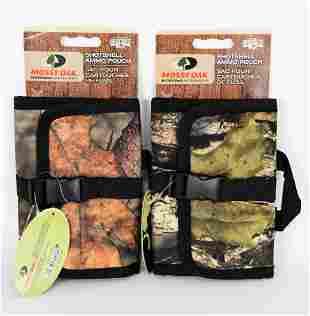 NEW Lot of 2 Mossy Oak Shotshell Ammo Pouch
