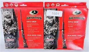 NEW Lot of 2 Mossy Oak Graphics Rifle Skin