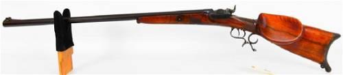 RARE Austrian Schutzen Rifle 1880's .45 CAL