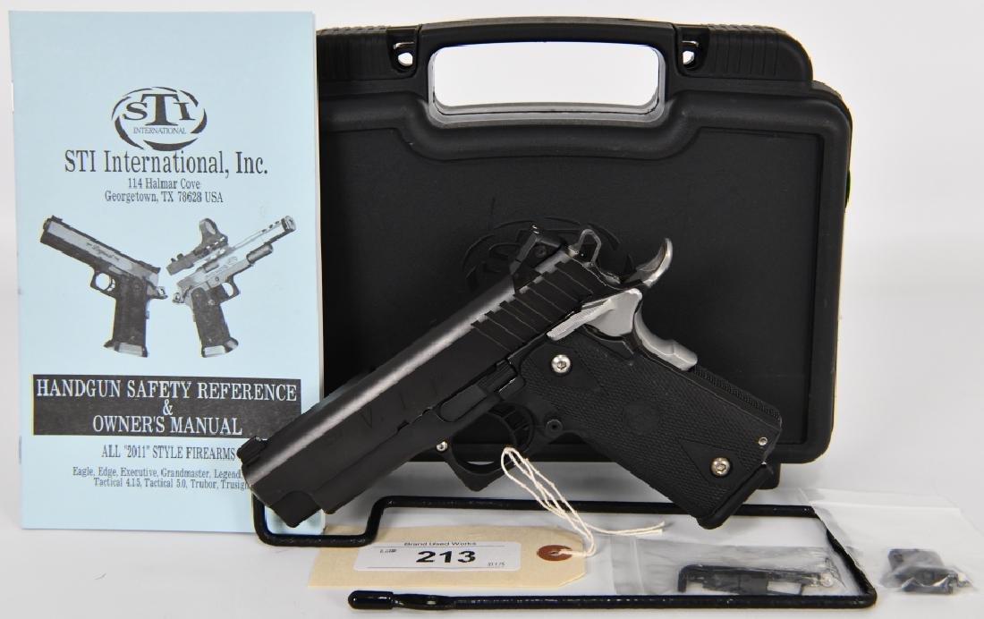 STI VIP 2011 Semi Auto 9mm Pistol with Hardcase