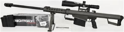 Barrett M82A1 Semi Auto .50 BMG W/ Nightforce