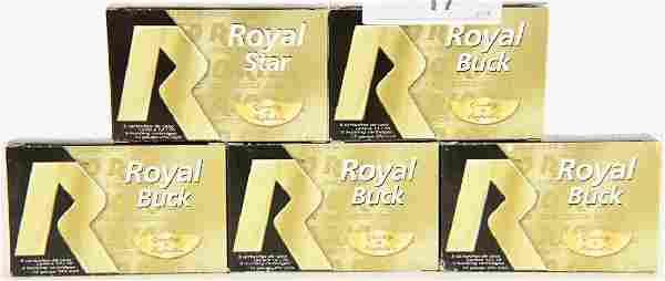 25 RDS of Royal Black 12 GA Buckshots
