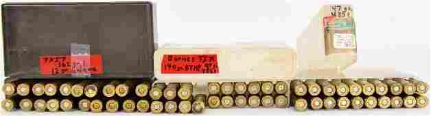 47 Rds of 7mm Mauser & 7mm Cartridges