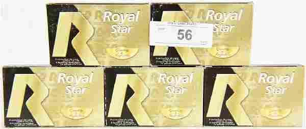 25 Rds Royal Star 12 GA Plastic Shotshells