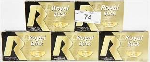 25 Rds of Royal Buck 12 GA 00 Plastic Buckshots