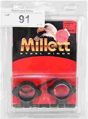 MILLETT Steel Rings NEW SR00702 Turn In 1 Med