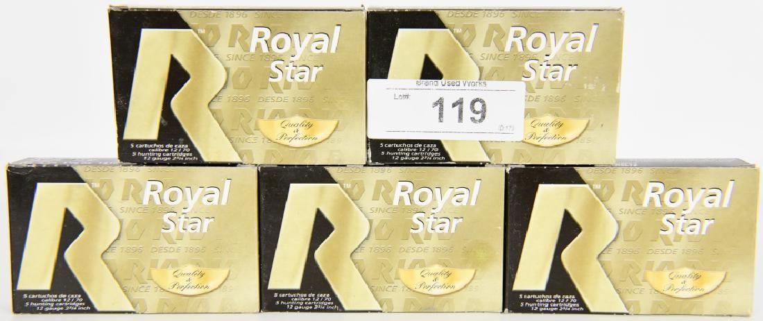 25 Rds of Royal Star 12 Ga Plastic Shotshells