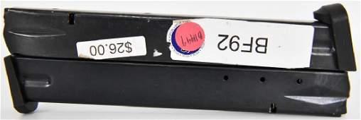 Lot of 2 Beretta 92F 30 rd Mags 9mm