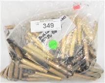 Large Lot of 30-06 Primed or Unprimed Brass Cases