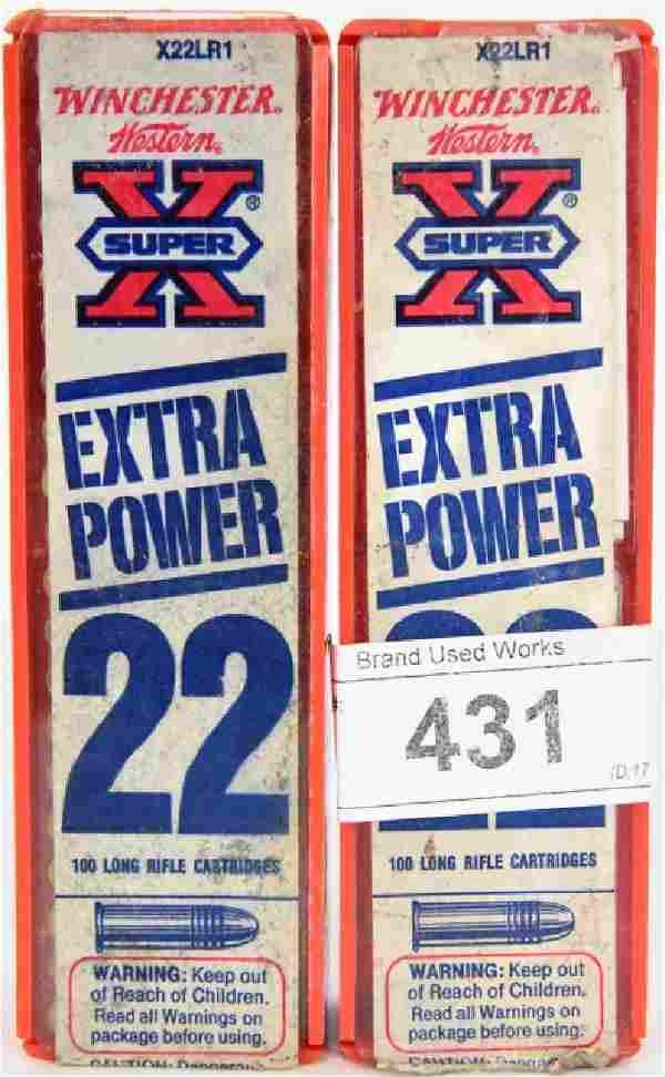 200 Rds .22 ammo see below, SuperX .22 & Wildcat