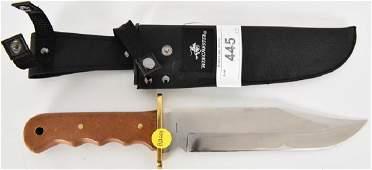 Very Sharp Winchester Skinning Knife & Sheath
