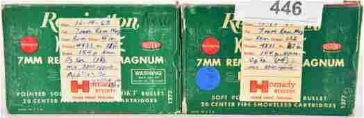 17 Rds of Remington 7MM Rem Magnum Cartridges