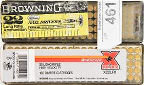 187 Rds of .22 LR Cartridges