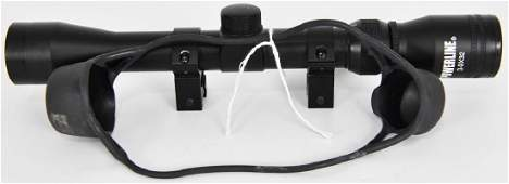 Powerline 3-9X32 Scope with Rings