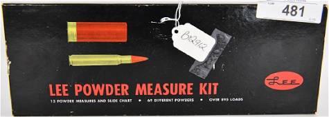 NEW Lee Powder Measure Kit & Manual