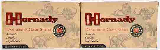 38 Rounds Of Hornady Game Series .375 Ruger