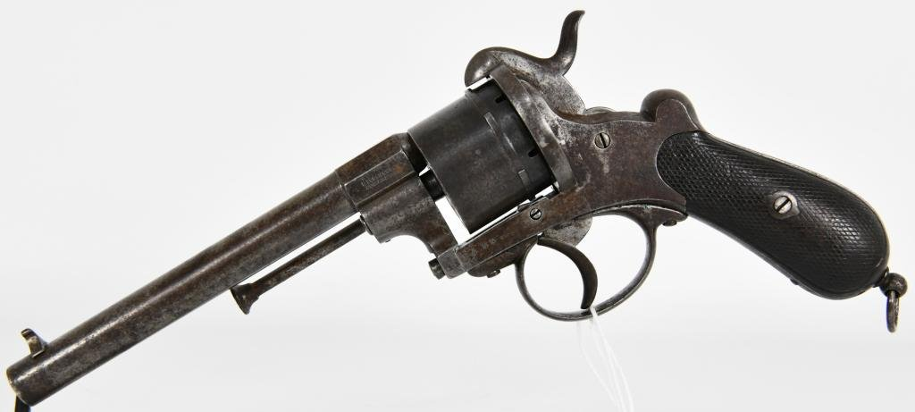 Original M1858 Lefaucheux Navy Model 12mm Pinfire
