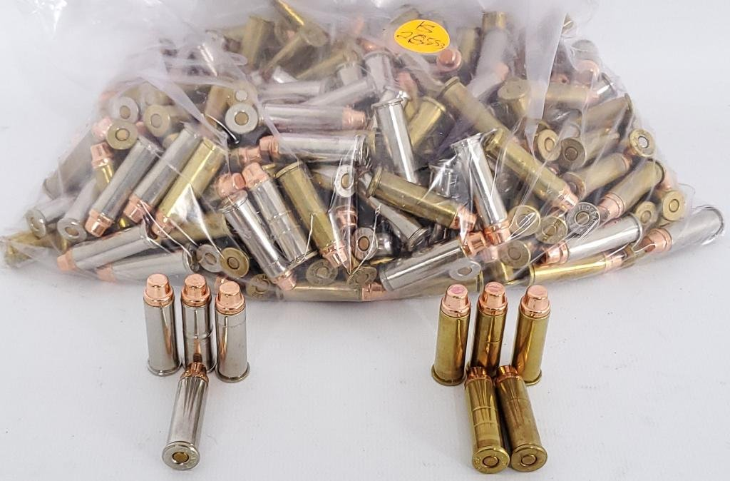250 Rounds of .38 Special Reloaded Ammunition