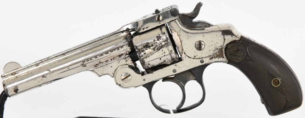 Smith & Wesson 4th model Top Break Revolver .32