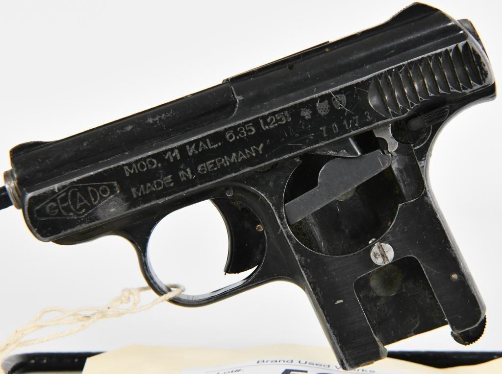 Gecado Model 11 .25 Caliber Made in Germany
