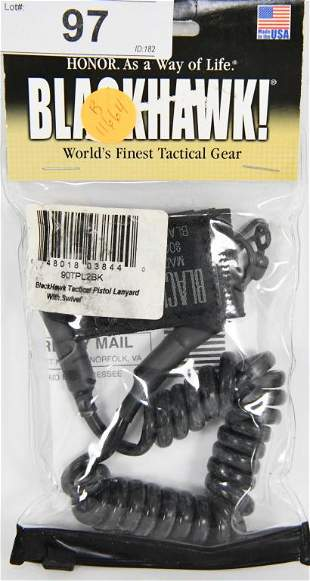 BLACKHAWK! Tactical Pistol Lanyard with Swivel