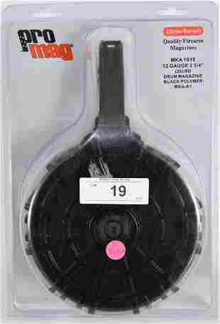 "ProMag MKA 1919 12 Gauge 2 3/4"" 20 Round Drum Mag"