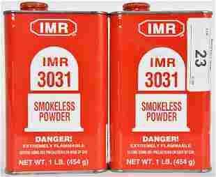 Lot of 2 IMR 3031 Smokeless Gun Powder SEALED 2lb