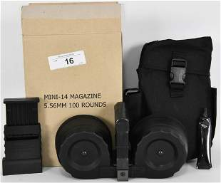 KCI Ruger Mini-14 100 Round Drum Magazine 5.56