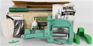 RCBS Rock Chucker Press NOS