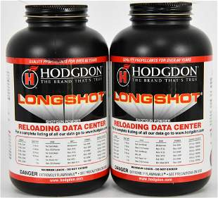 Lot of 2 Bottles new Hodgdon Pistol/Shotgun Longs