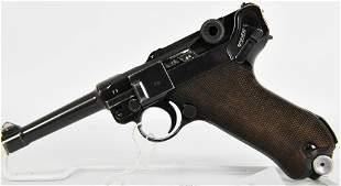 WWII Nazi Mauser P08 Luger Pistol 1939