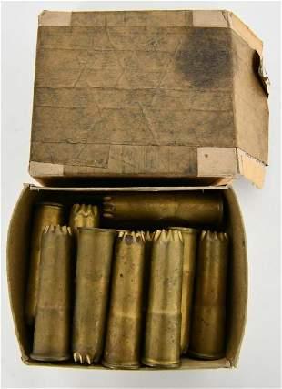 18 Greener Police Gun Live Brass Shells