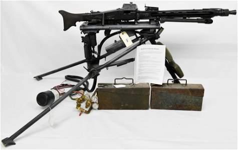 German MG-42 Machine Gun Gas Conversion W/ HK