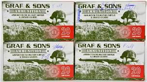 76 Rounds Of Graf & Sons 6.5 Jap Ammunition &
