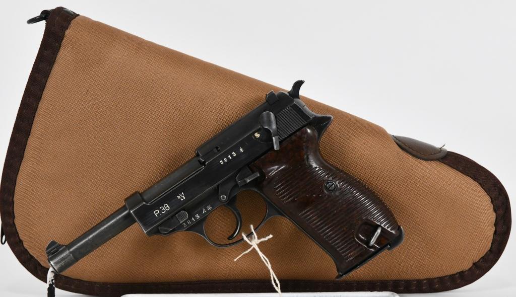 World War II P38 Mauser BYF 43 Code