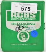 RCBS F L DIE SET .222 REM Group A #10901