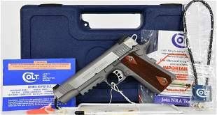 Colt Rail Gun 1911 Semi Auto Pistol 9mm