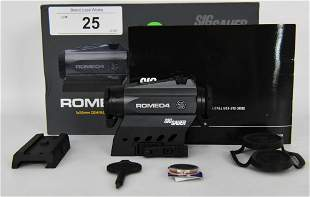 Sig Sauer ROMEO4C Red Dot Sight 1x 20mm NEW