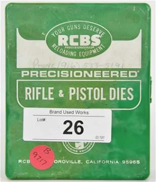 RCBS 1 Die Reloading Die Set For 25-243 Neck