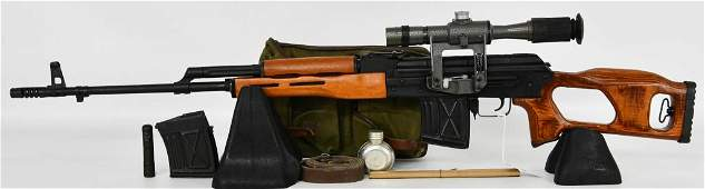 Romanian PSL-54 Rifle Semi-Auto Rifle 7.62x54R