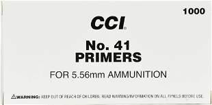 CCI Military #41 for 5.56 Nato Primers Box of 1000